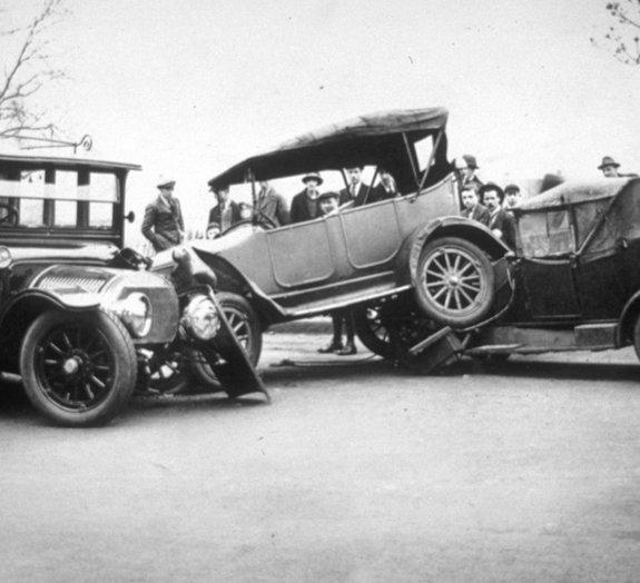 O primeiro acidente fatal de automóvel na História ocorreu a 6 km/h
