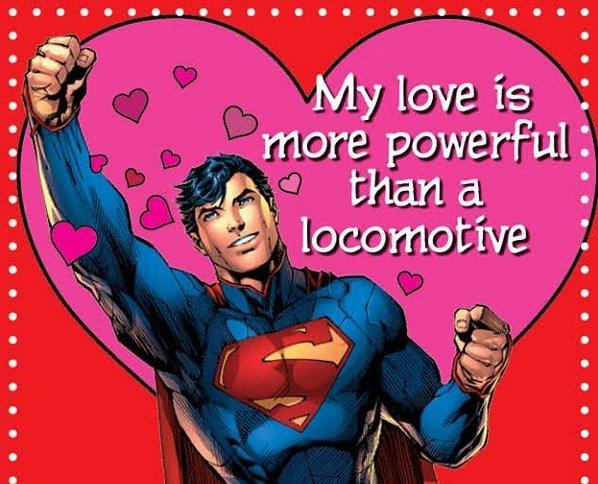 DC disponibiliza cartões do Dia dos Namorados para nerds