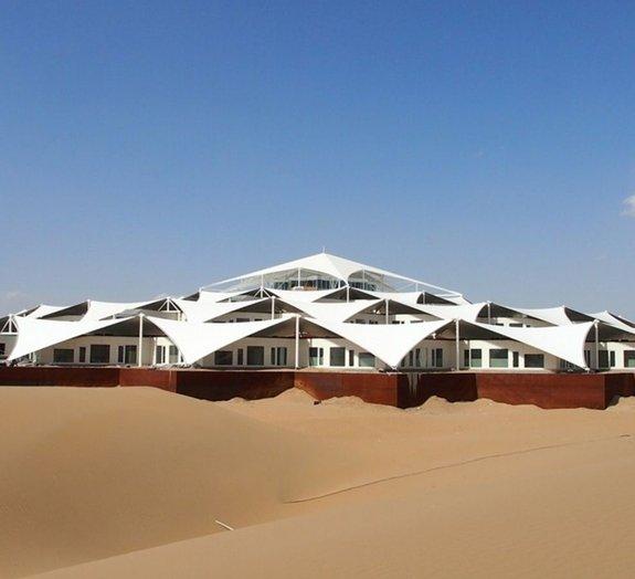Resort na Mongólia tem arquitetura em forma de lótus