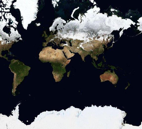 5 lugares misteriosos avistados através do Google Earth