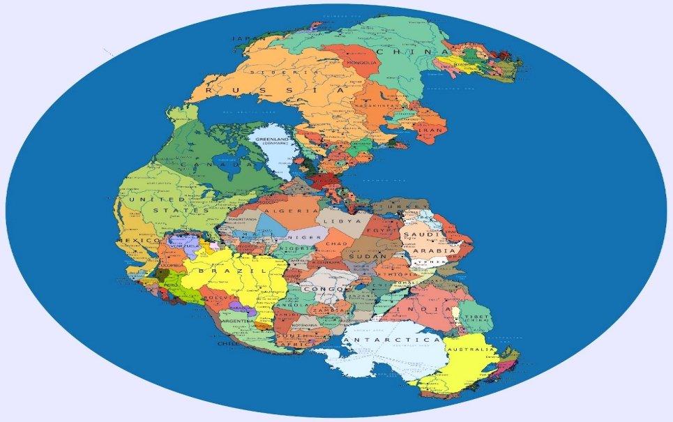Pangeia moderna: os continentes conseguiriam juntar novamente suas bordas?