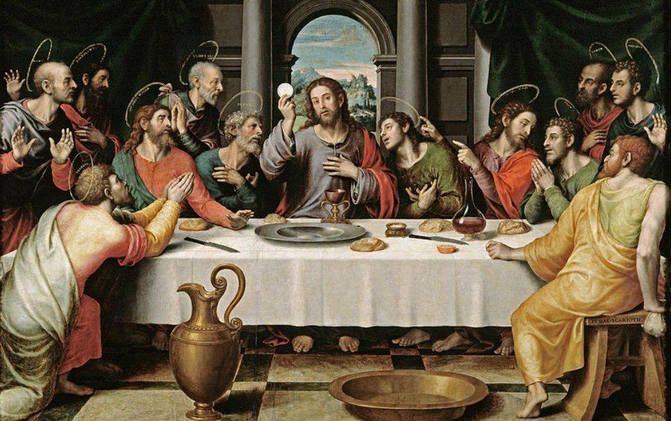 O que Jesus estava celebrando durante a última ceia?