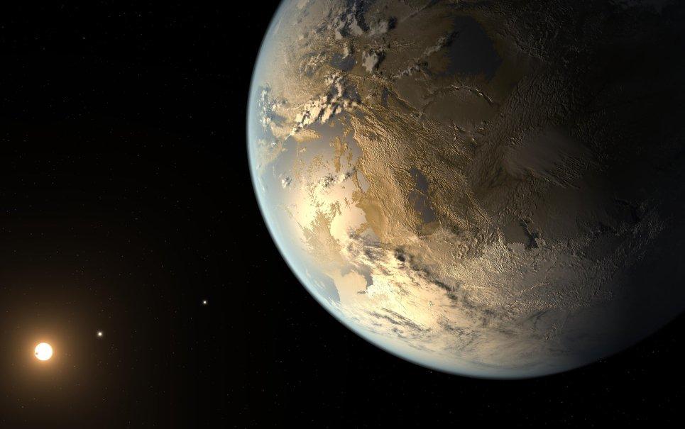 NASA descobre planeta do tamanho da Terra onde existe chance de haver vida