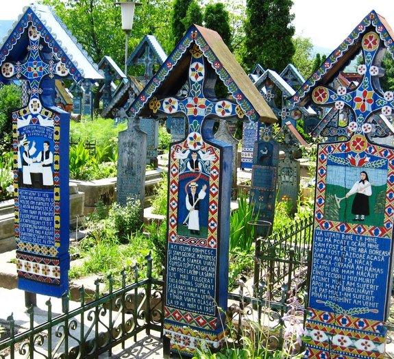 """O cemitério mais """"alegre"""" do mundo"""
