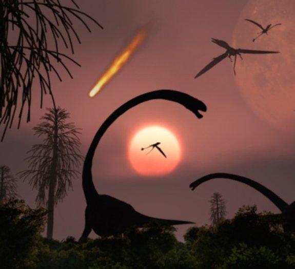 Teria sido a matéria escura responsável pela extinção dos dinossauros?