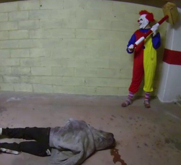 Esta pegadinha com um palhaço assassino vai deixar você com medinho [vídeo]