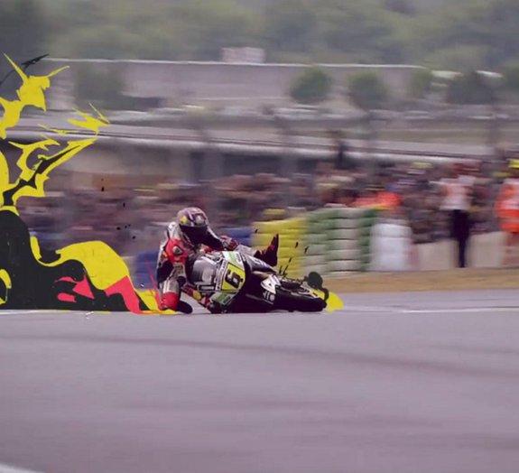 E se o Mundial de Motovelocidade tivesse efeitos especiais de anime?