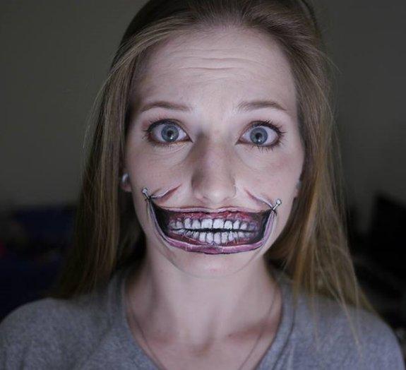 Você não vai acreditar no incrível talento desta maquiadora