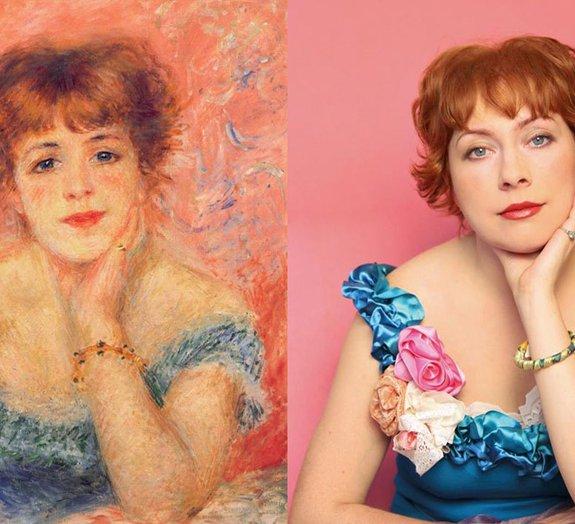 20 pinturas clássicas recriadas com fotografias atuais