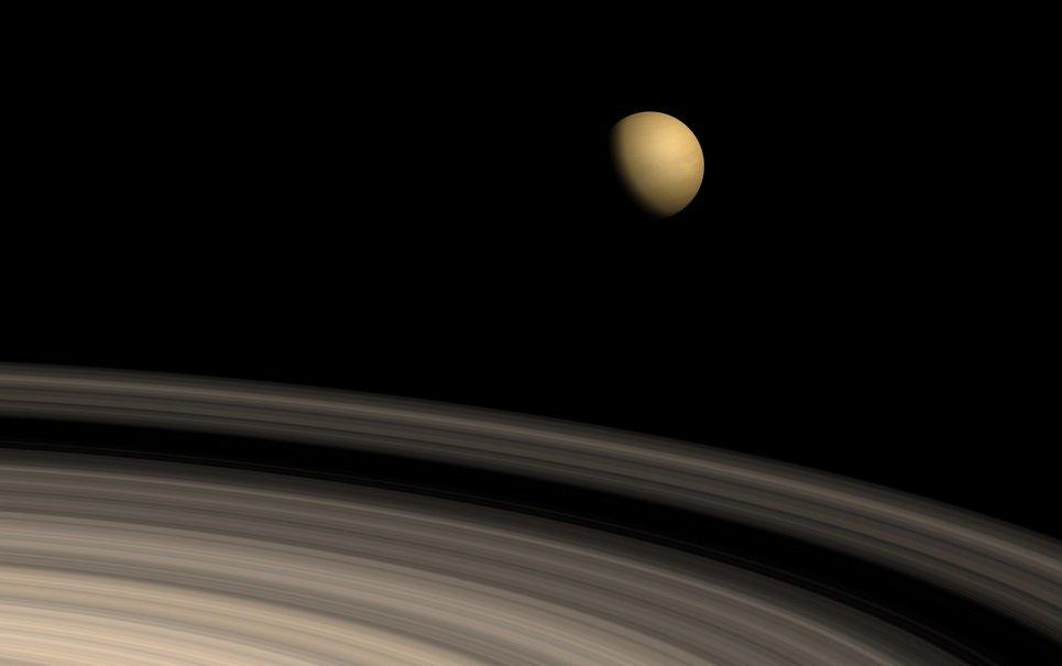 Você sabe qual o cheiro de uma lua de Saturno?