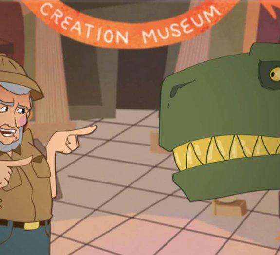 Museu criacionista diz ter provas de que dinossauros conviveram com humanos