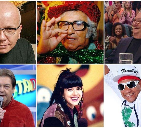 Saiba o nome real de 15 famosos dos programas de auditório da TV brasileira
