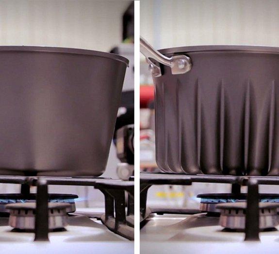 Engenheiro de motores a jato cria uma panela revolucionária e eficiente