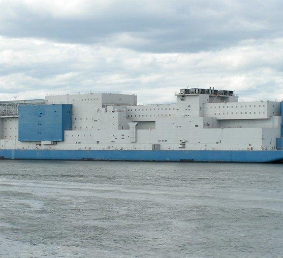 Conheça o Vernon C. Bain Center, o maior navio prisional do mundo