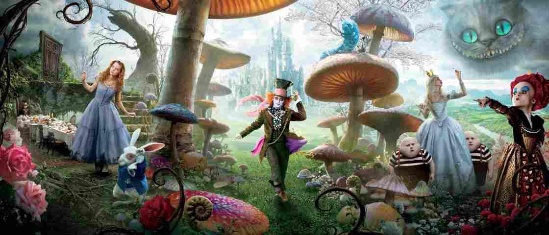 Começa a produção da sequência de Alice no País das Maravilhas