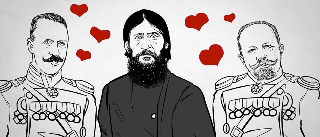 Novo vídeo do Mega: A bizarrice é garantida quando Rasputin está no meio