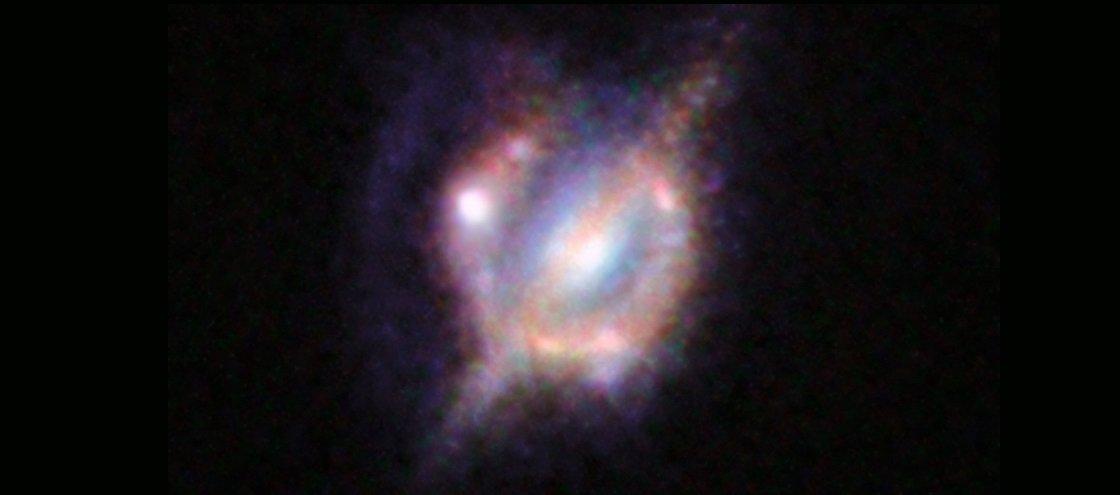 Astrônomos divulgam a melhor imagem de colisão entre galáxias já obtida