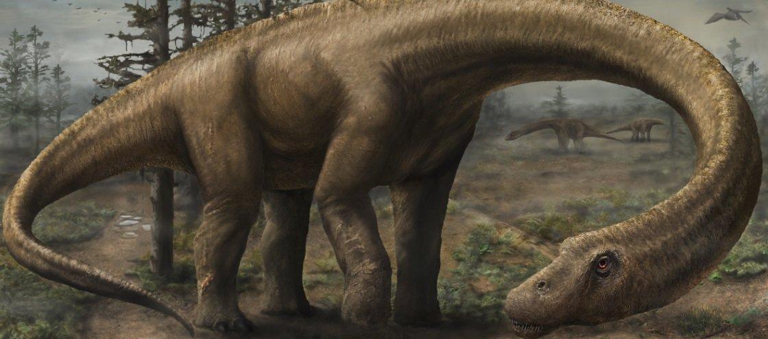 Cientistas descobrem dinossauro supermassivo no sul da Patagônia