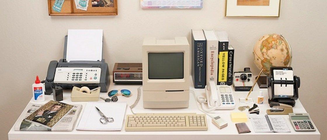 Veja a evolução da mesa de trabalho de 1980 a 2014 em um GIF incrível
