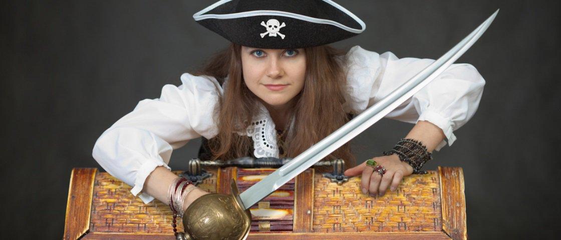 5 mulheres piratas que você deveria conhecer