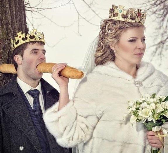 Rússia: veja as fotos de casamentos mais inapropriadas já registradas