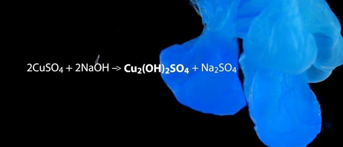 A beleza das reações químicas em vídeos de alta qualidade