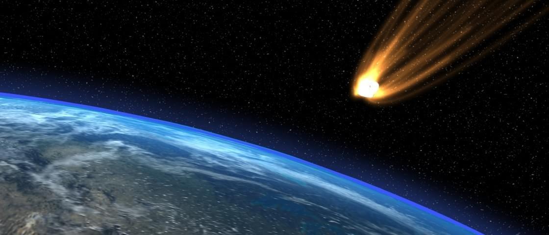 NASA mostra mapa de ocorrências de pequenos asteroides na Terra