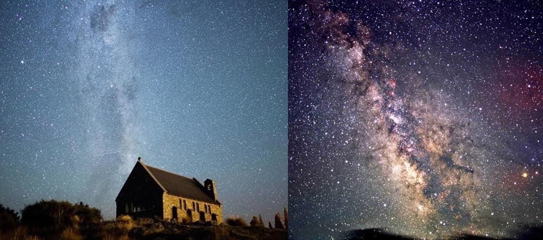 15 imagens espetaculares do céu estrelado do interior