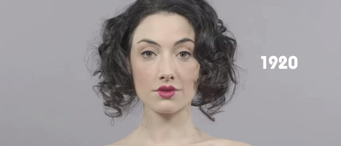 Veja em time-lapse como a beleza mudou através de 100 anos [vídeo]