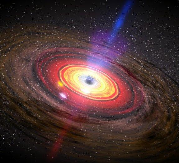 NASA explica o que é um buraco negro