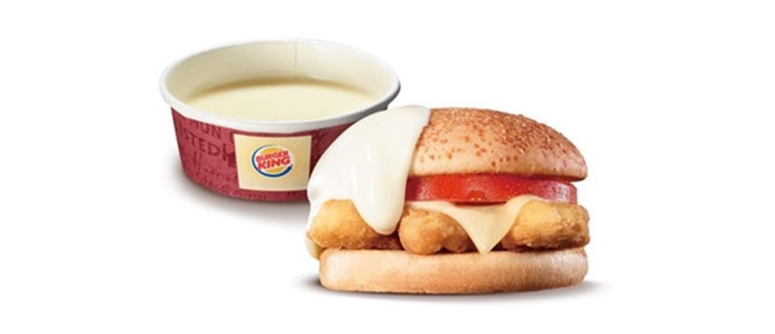 Só no Japão: Burger King lança fondue de cheeseburger