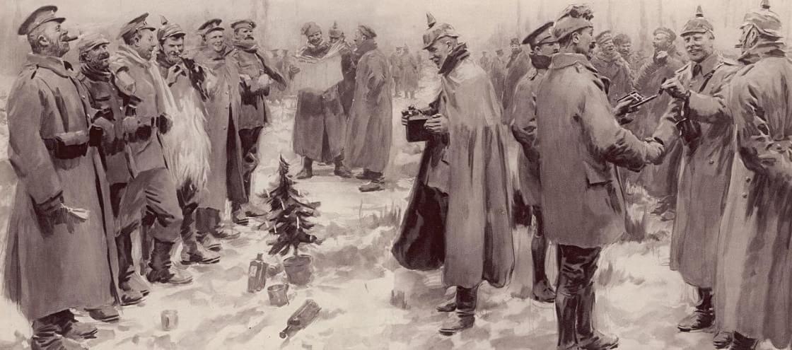 Conheça a história sobre a Trégua de Natal da Primeira Guerra Mundial