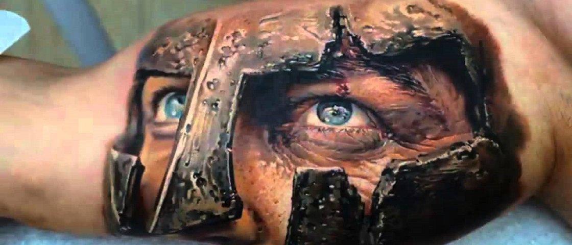 25 tatuagens 3D que vão fundir o seu cérebro