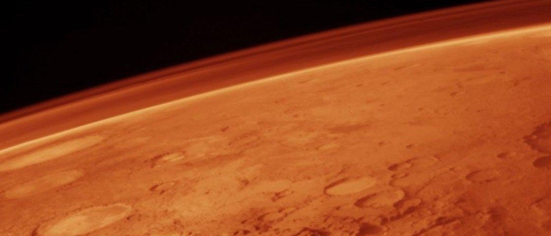 Cientistas encontram indícios de água líquida em Marte