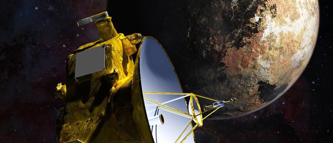 Sonda da Nasa inicia exploração de Plutão
