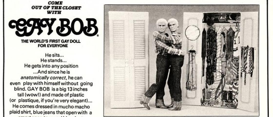 Conheça a história de Gay Bob, o primeiro boneco gay do mundo [+18]