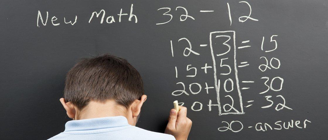 Você sabia que dá para fazer uma conta de menos somando números?