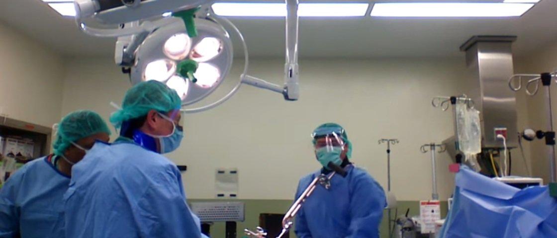 Assista à árdua remoção de uma haste intramedular de tíbia [vídeo]