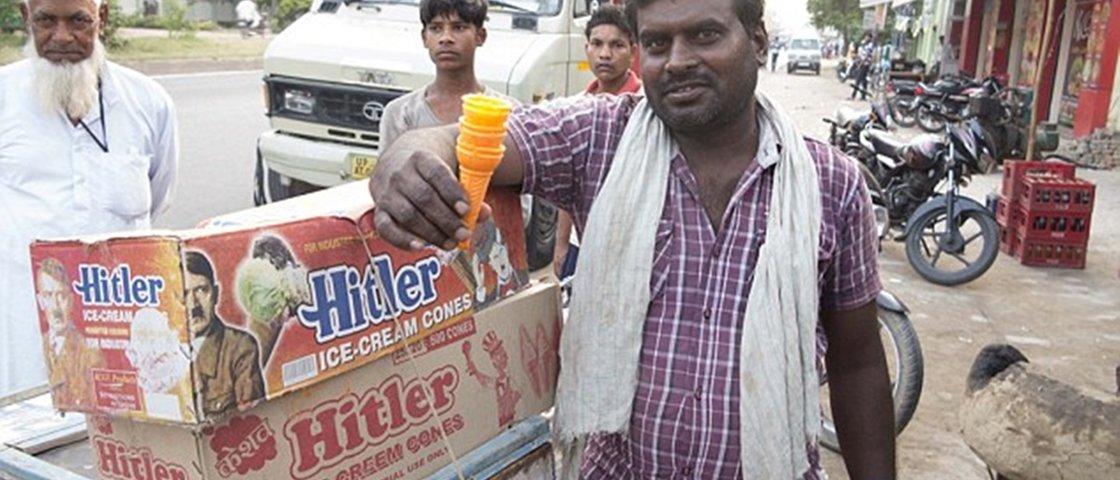 Indianos vendem cone para sorvete chamado 'Hitler'