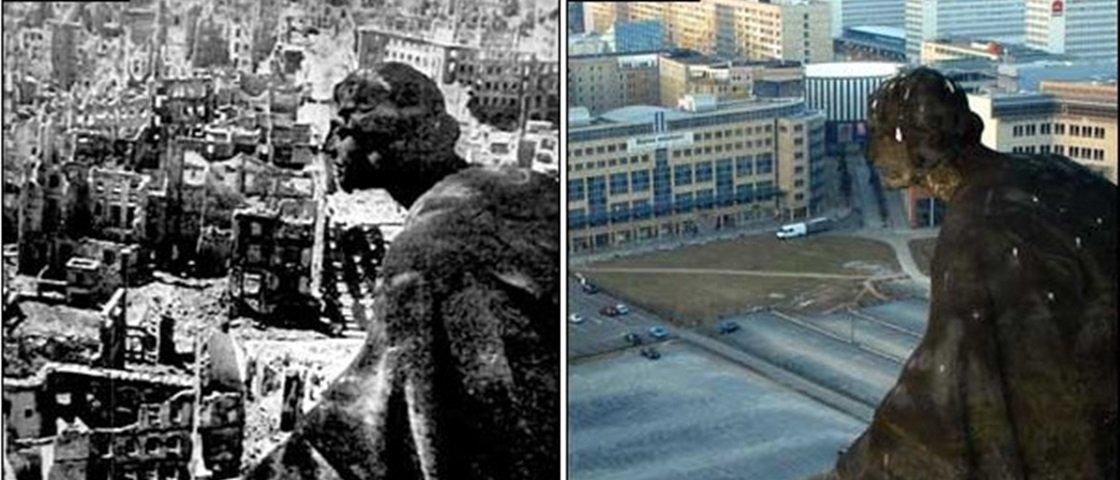 Confira 27 imagens impressionantes de cidades antes e depois