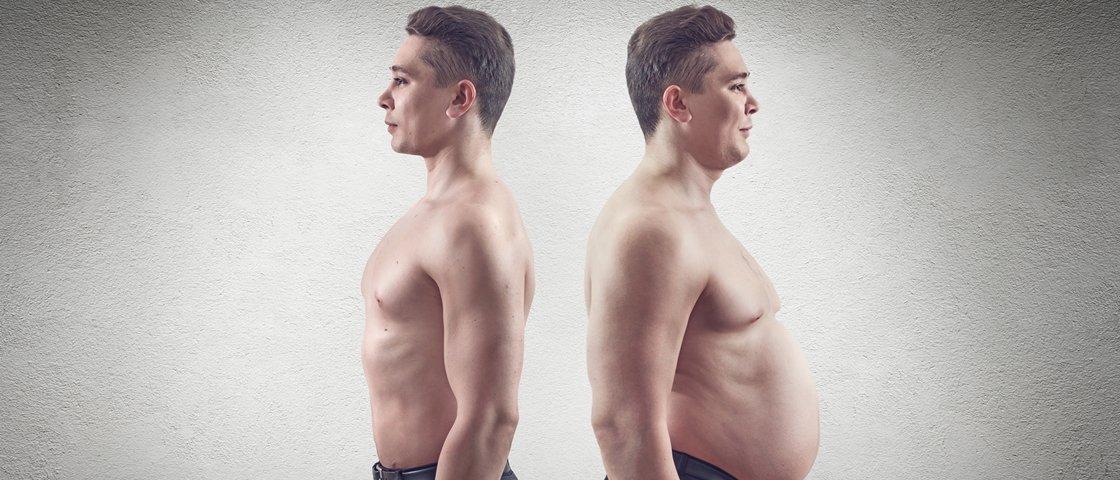 É verdade que pessoas magras têm o estômago menor?