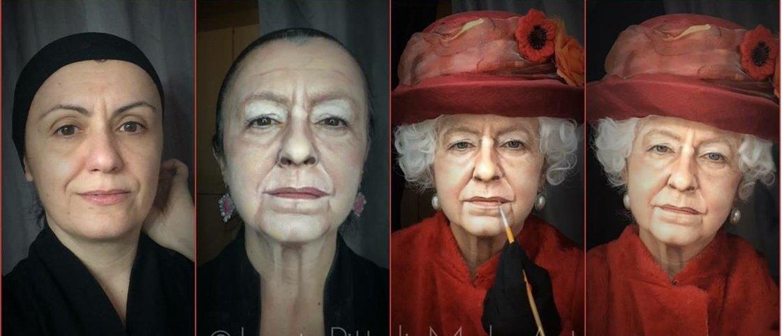 Impressionante: conheça a maquiadora que se transforma em artistas famosos