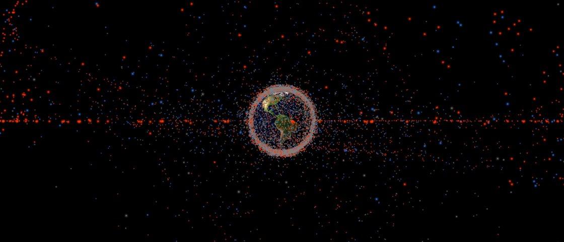 Conheça o site que mapeia tudo o que gira em órbita da Terra