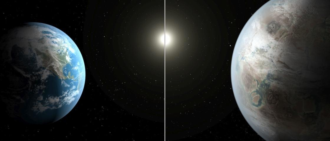 Encontramos o segundo planeta Terra, é isso mesmo?