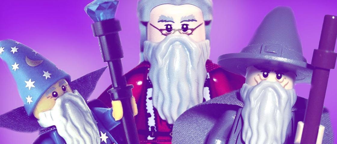 Qual é o mago mais poderoso: Merlin, Dumbledore ou Gandalf?