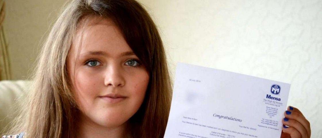 Super QI: menina de 12 anos 'gabarita' teste de inteligência