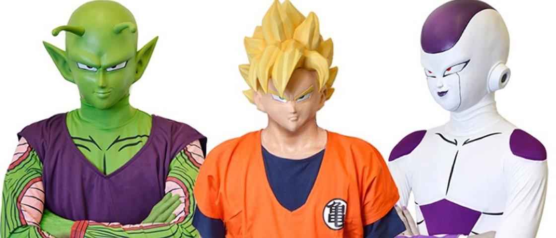 Goku, Piccolo ou Freeza? Fantasias de Dragon Ball estão à venda no Japão