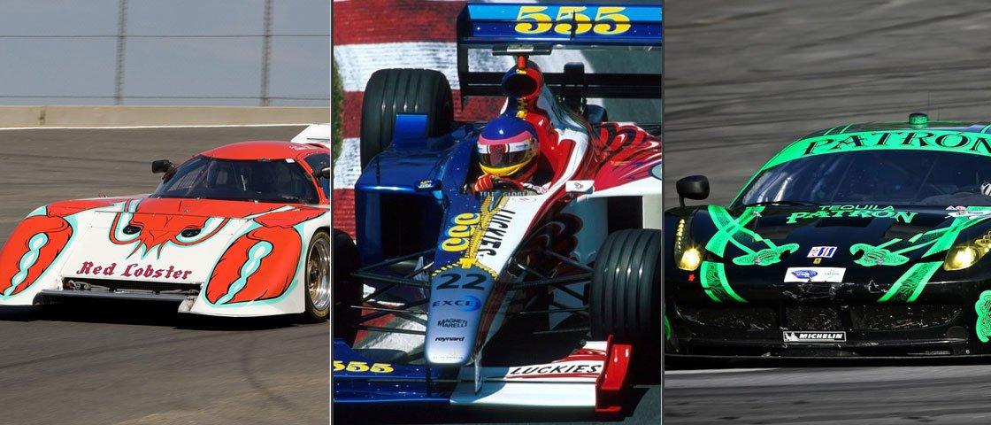 As 10 pinturas mais criativas feitas em carros de corrida