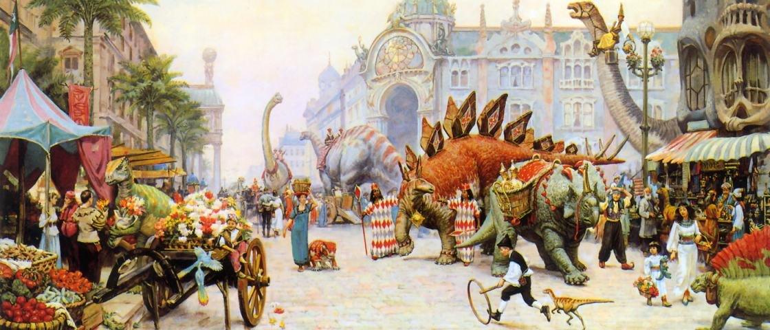 Como seria a Terra se os dinossauros ainda existissem?
