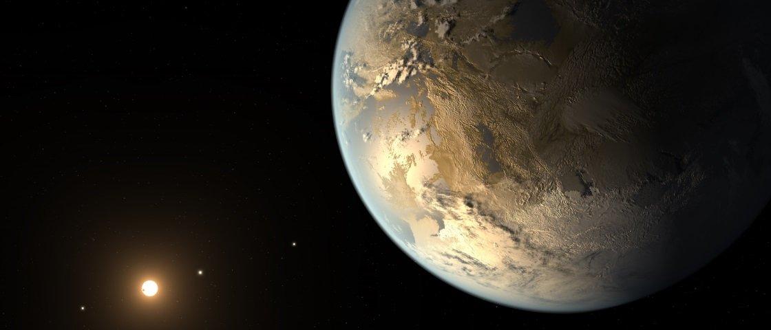 Terra pode ser um dos primeiros planetas habitáveis no Universo